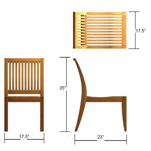 [teak slatted chairs for sale